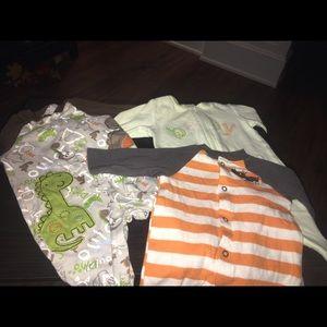 Other - Footsie Sleep/play onesies size newborn